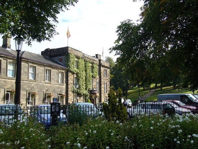 The Old Hall Hotel, Buxton
