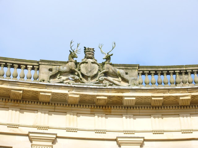 Coat of Arms, The Crescent, Buxton