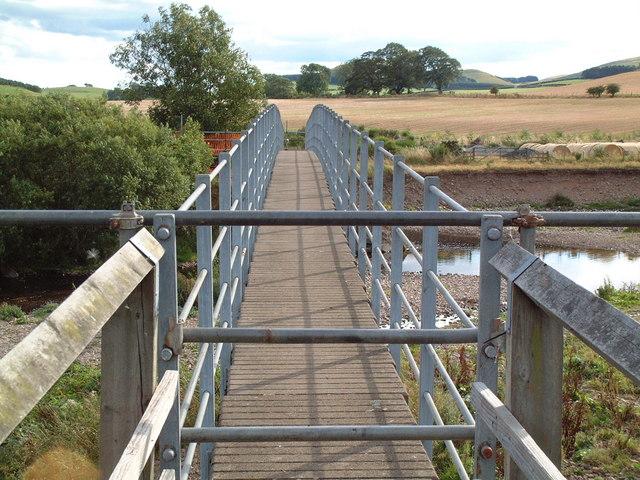 Footbridge at Brandon