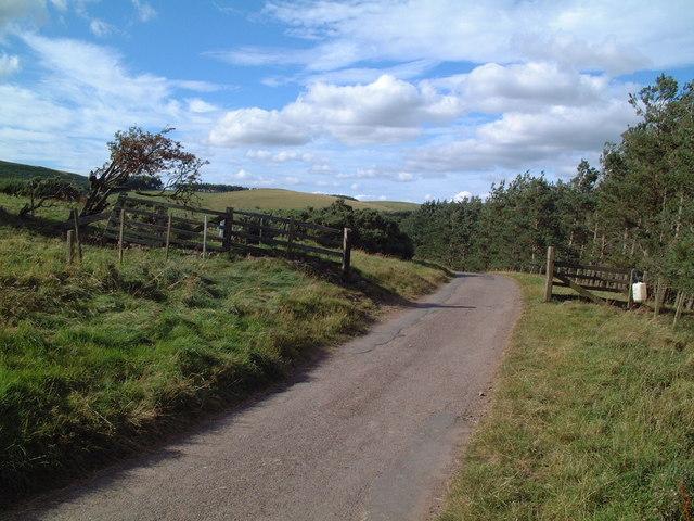 The Road near Clinch