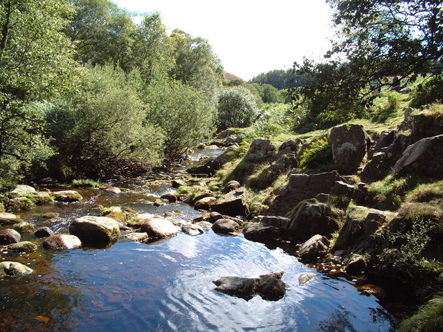 Pool Below Linhope Spout
