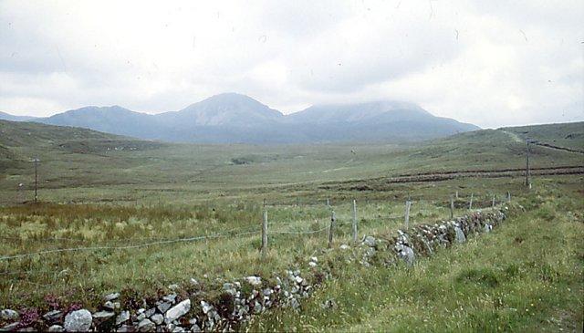 Cloghaneely bogland