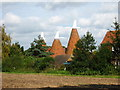 TQ6246 : Oast House, Hale Farm, Hartlake Road, Tudeley, Kent by Oast House Archive