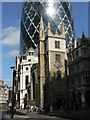 TQ3381 : City parish churches: St. Andrew Undershaft by Chris Downer