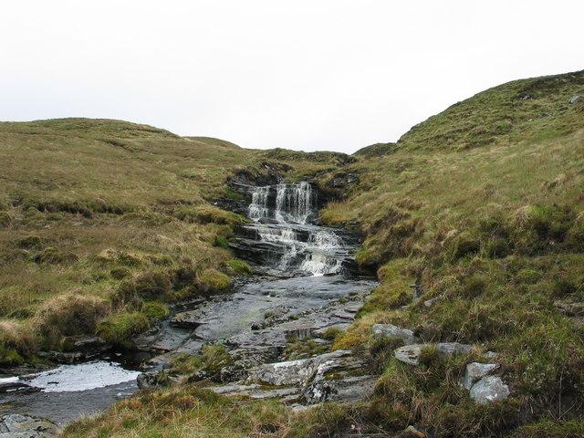 Allt Na Feithe Riabhaich Waterfall