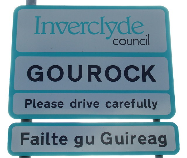 Welcome to Gourock