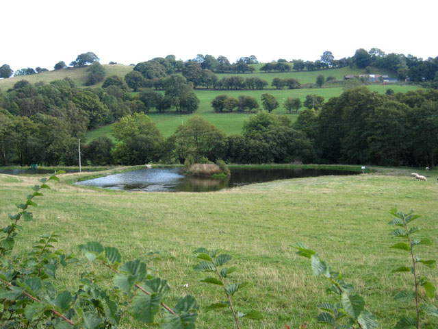 Fishing lake near cornorion fawr oliver dixon cc by sa 2 for Nearest fishing lake