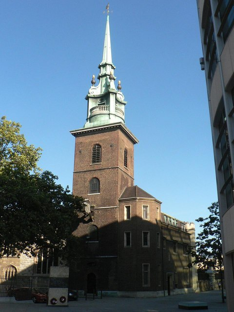 City parish churches: All Hallows-by-the-Tower
