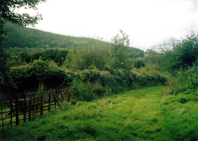 Site of the old hall at Llandysilio yn Iâl