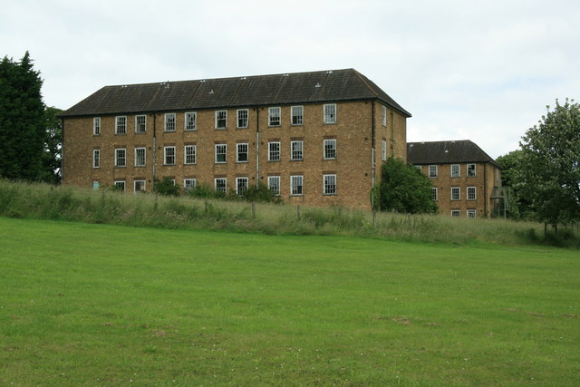 A building at the former RAF Binbrook