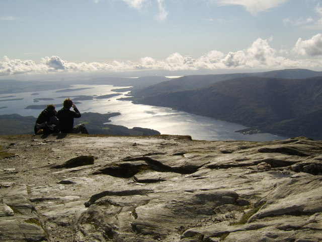 Summit of Ben Lomond, looking southwest