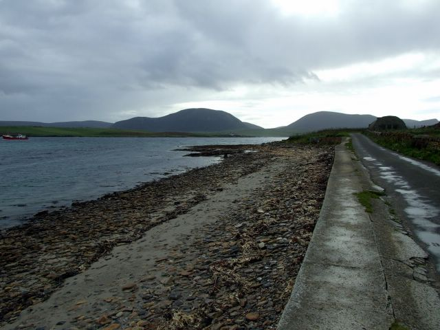 Shoreline at Ness