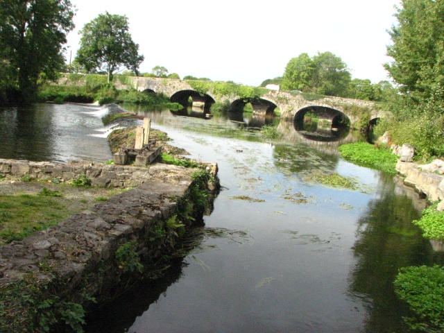 Bridge over Kings river , Kells