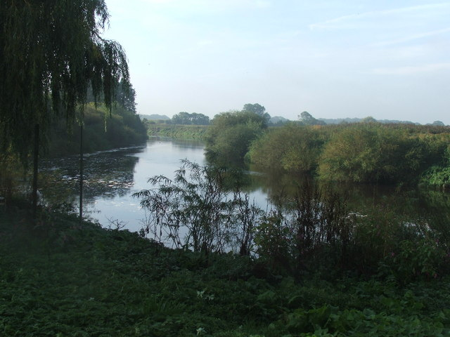 River Ouse between Beninborough Park and Newton on Ouse