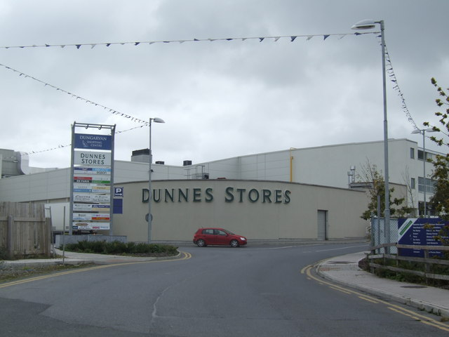 Dunnes Stores - at the centre of Dungarvan