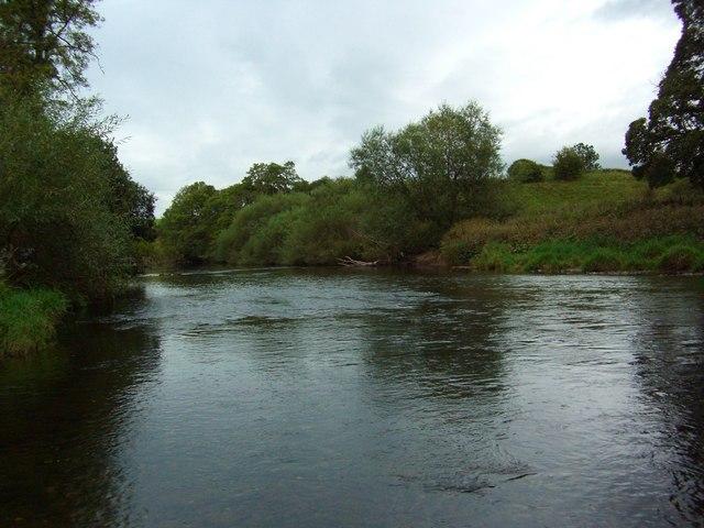The River Eden at Julian Bower