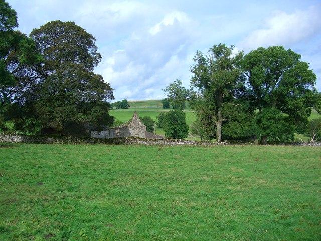 Ruined farm at Lane Head