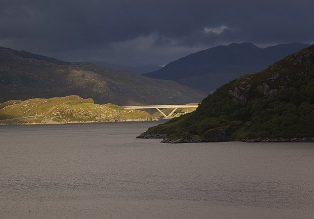 Kylesku Bridge from B869