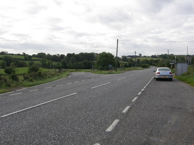 Junction of Keady road/Dundrum Road