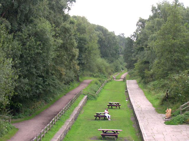 The Middlewood Way at Higher Poynton, Cheshire