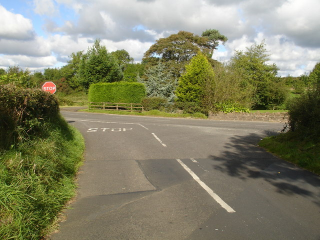 Glen Road Junction with Green Road