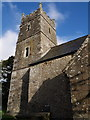 SS5408 : Tower, St Michael's church, Meeth by Derek Harper