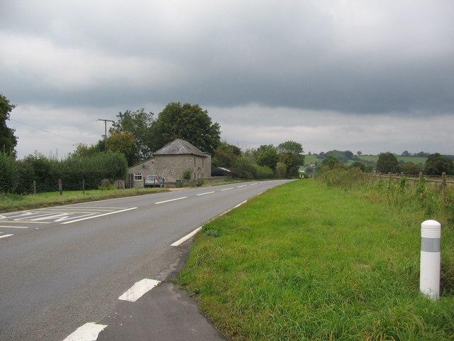 Approaching Wraxall