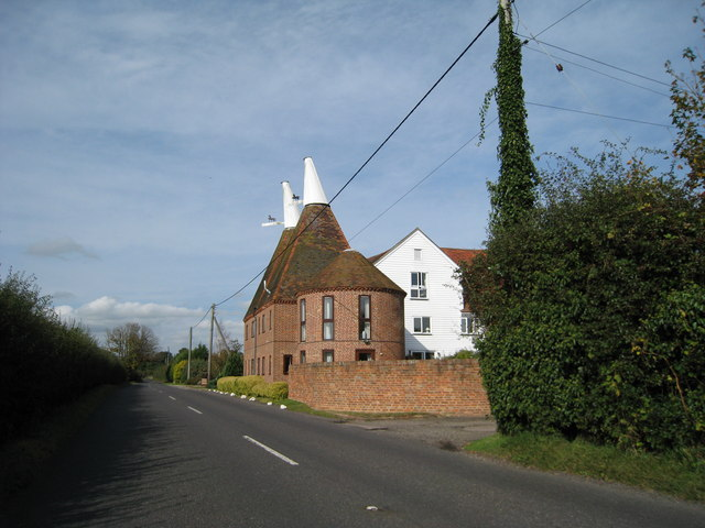 Pickhill Oast Smallhythe Road 169 Oast House Archive Cc