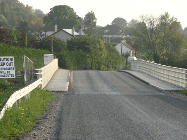 New bridge at Nurney