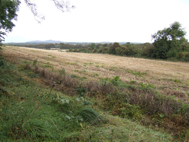 Stubble field at Coolateggart