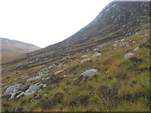 NR9544 : Hillside towards Loch na Davie by Chris Wimbush