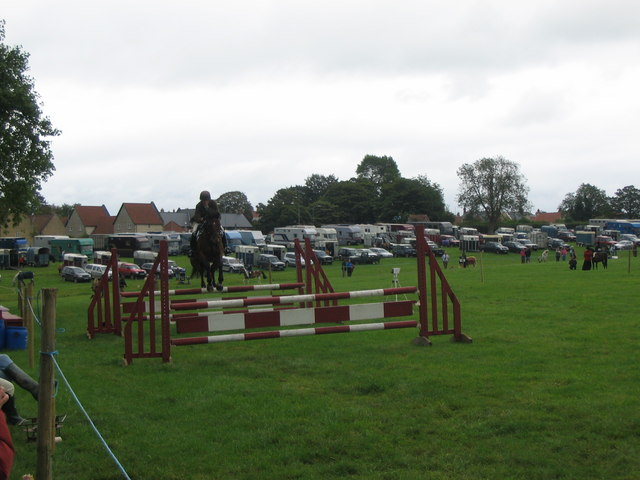 Showjumping at the 2007 Mid-Somerset Show