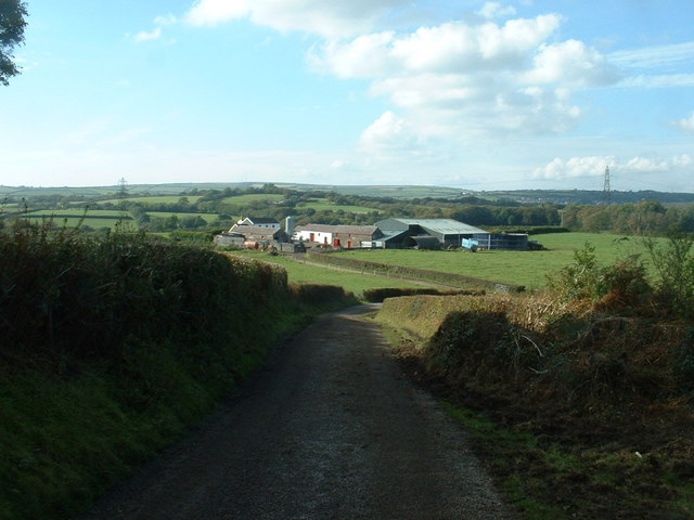 Pen-llwyn-gwydr farm