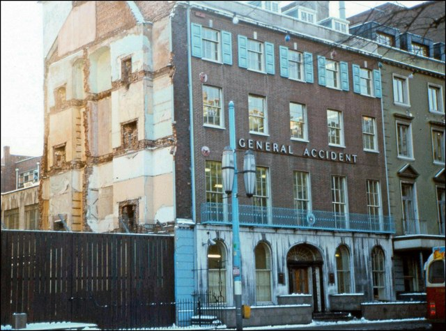 Donegall Square South (part), Belfast (1981)