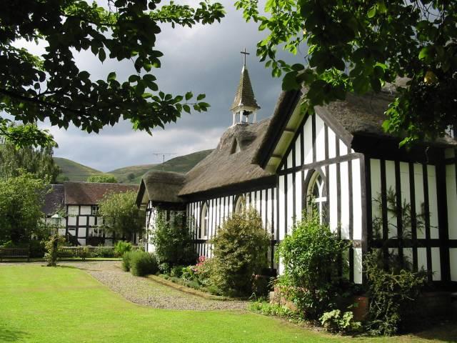 The church at Little Stretton