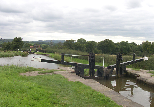 Bosley Lock No 2, Macclesfield Canal, Cheshire