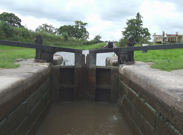 Bosley Lock No 8, Macclesfield Canal, Cheshire