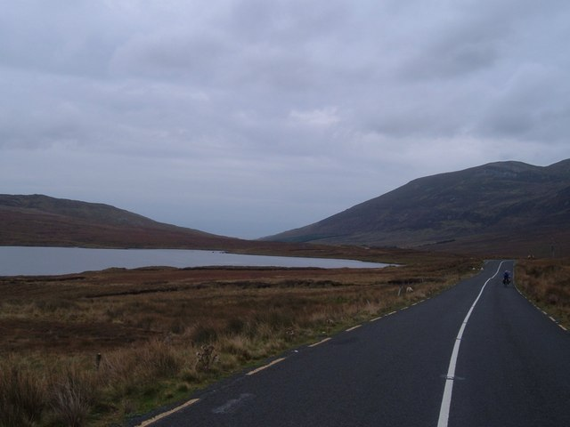 Road to GlenColumnkille looking towards Kilcar