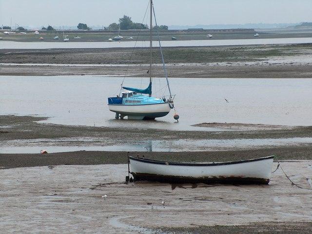 Low tide at Heybridge basin
