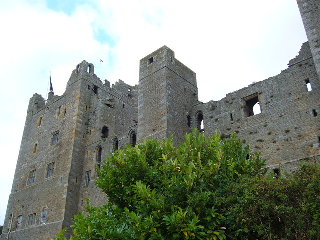 Another view of Bolton Castle.