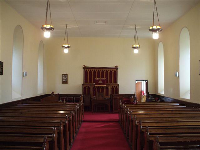 Interior Of Glenhoy Presbyterian Church 169 Kenneth Allen