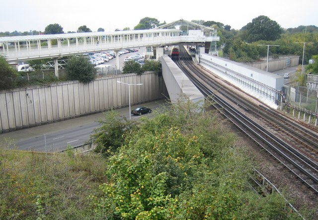 Hillingdon Underground Station Car Park