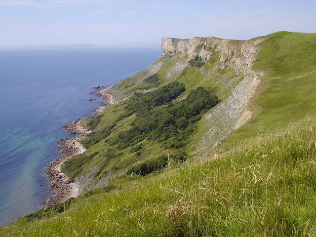 Gad Cliff from Dorset Coast Path