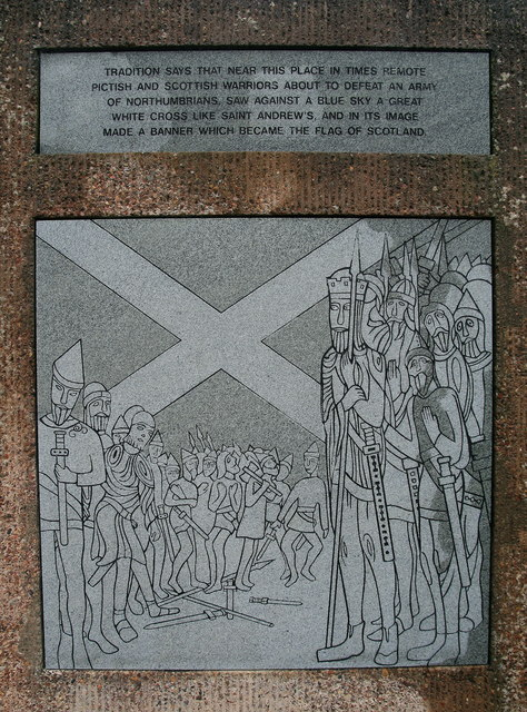 Plaque, Athelstaneford Parish Church