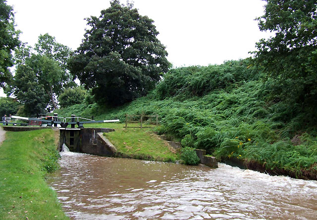 Audlem Locks (No 4), Shropshire Union Canal, Cheshire