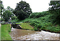 SJ6542 : Audlem Locks (No 4), Shropshire Union Canal, Cheshire by Roger  Kidd