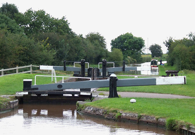 Audlem Locks (No 2), Shropshire Union Canal, Cheshire