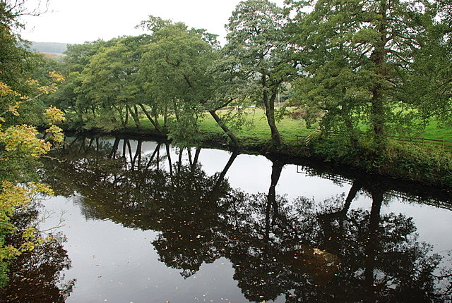 River Derwent from Froggatt bridge