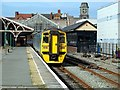 SN5881 : Arrival at Aberystwyth by John Lucas