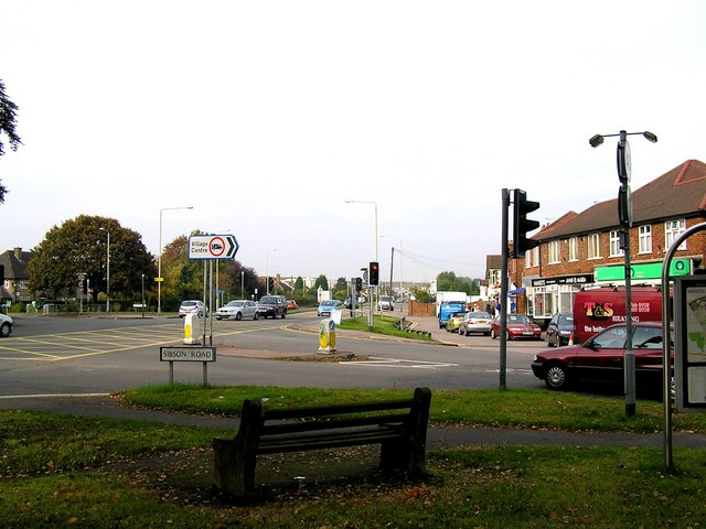 Junction of Sibson Road and Loughborough Road (A6)